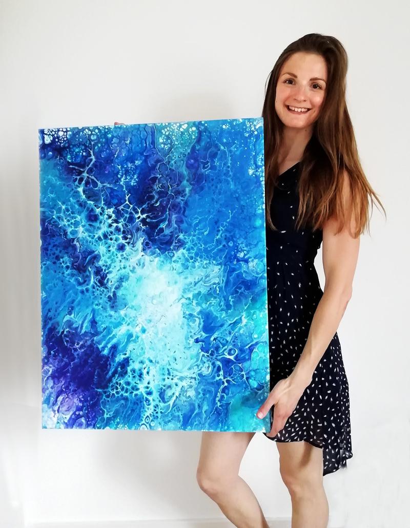 Cyrielle Recoura Art - contemporary artist - custom art
