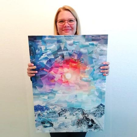 Glückliche Besitzer - Cyrielle Recoura Art - custom collage