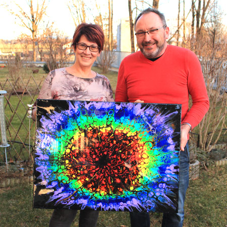 Happy owners - Cyrielle Recoura Art - painting
