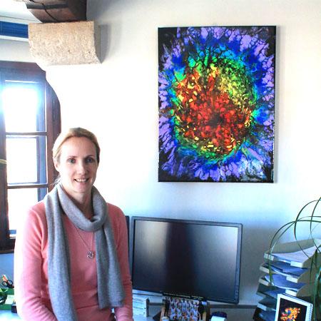 Glückliche Besitzer - Cyrielle Recoura Art - Gemälde